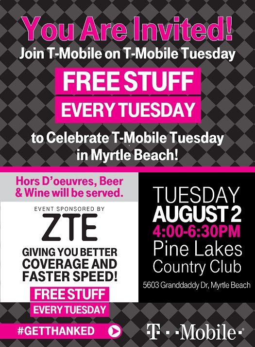 Business after hours t mobile t mobile tuesdays colourmoves