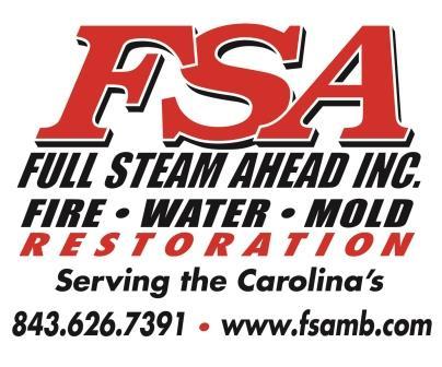 FSA Full Steam Ahead Inc Fire Water Restoration